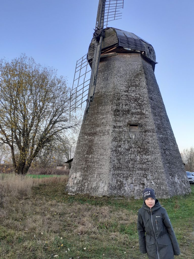 Старая мельница в д. Завал - памятник деревянной архитектуры.