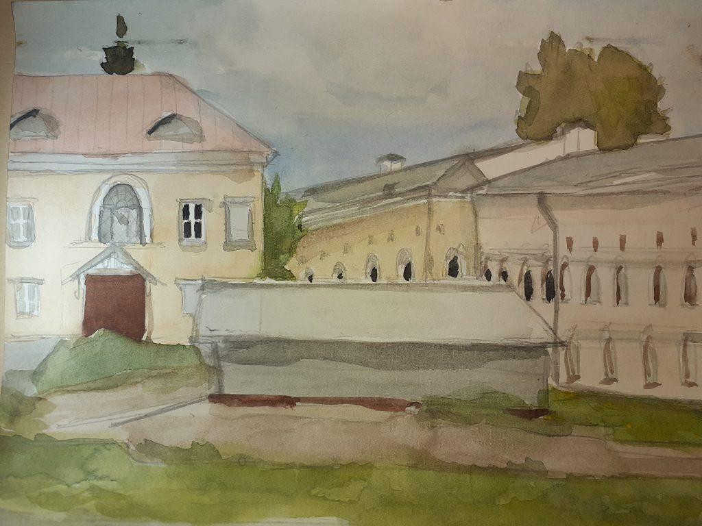 Задворки софийского собора