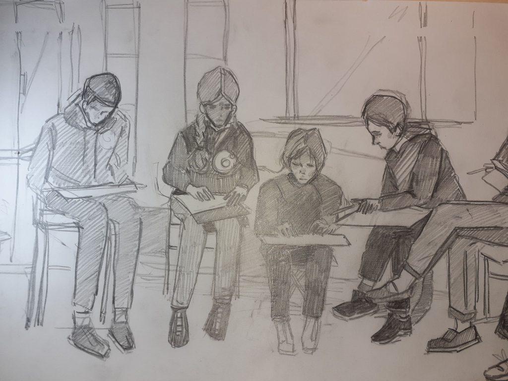 Рисуем друг друга