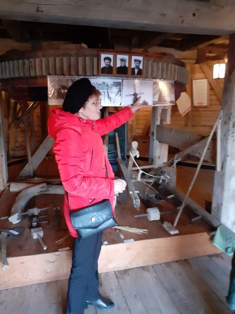 Старая мельница под Сергово Новгородской области - музей быта народов Поморья